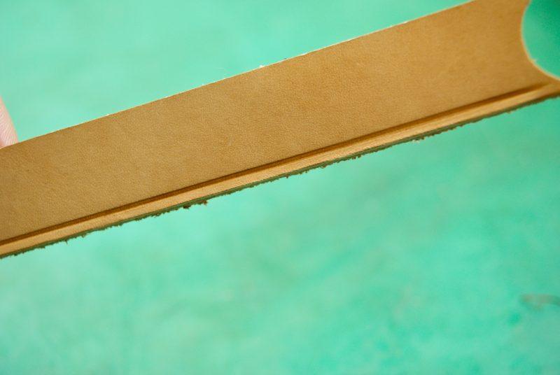 革製品をつくる工程